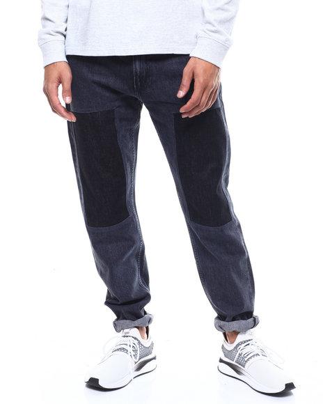 Calvin Klein - SLIM PATCHED WOLF BLACK JEAN