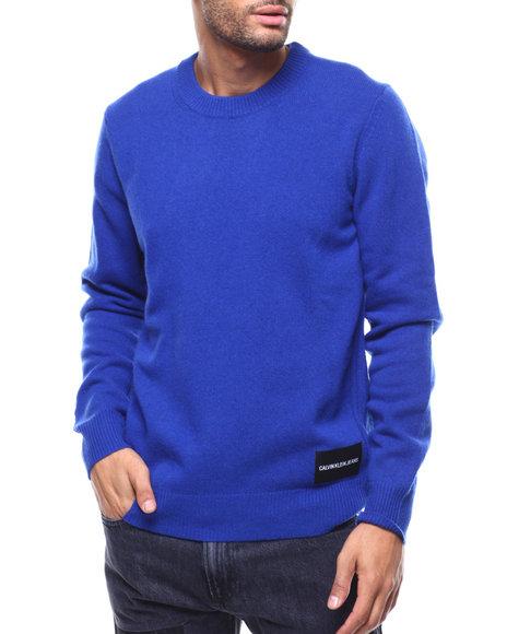 Calvin Klein - 7GG LAMBSWOOL PULLOVER SWEATER
