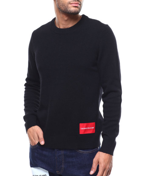 Calvin Klein - 7GG LAMBSWOOL PULLOVER SWEATER