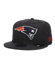 New Era - 9Fifty Heather Crisp 3 New England Patriots Snapback Hat-2285082