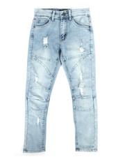 Jeans - Cut & Sewn Denim Jeans (8-20)-2284211
