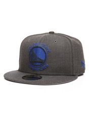 New Era - 9Fifty Heather Crisp 3 Golden State Warriors Snapback Hat-2285081