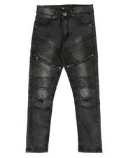 Jeans - Moto Denim Jeans w/ Zippers (8-20)-2284246