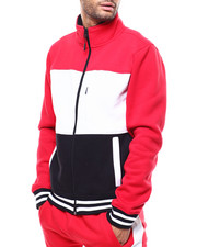 SMOKE RISE - COLORBLOCK FLEECE JACKET-2285255
