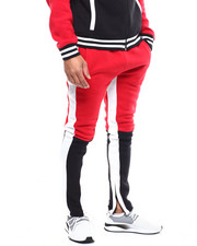 SMOKE RISE - COLORBLOCK FLEECE TRACK PANT-2285233