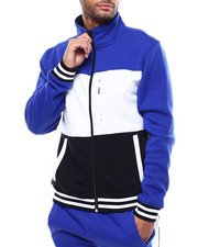 SMOKE RISE - COLORBLOCK FLEECE JACKET-2285249