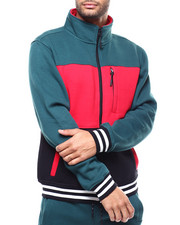 SMOKE RISE - COLORBLOCK FLEECE JACKET-2285243