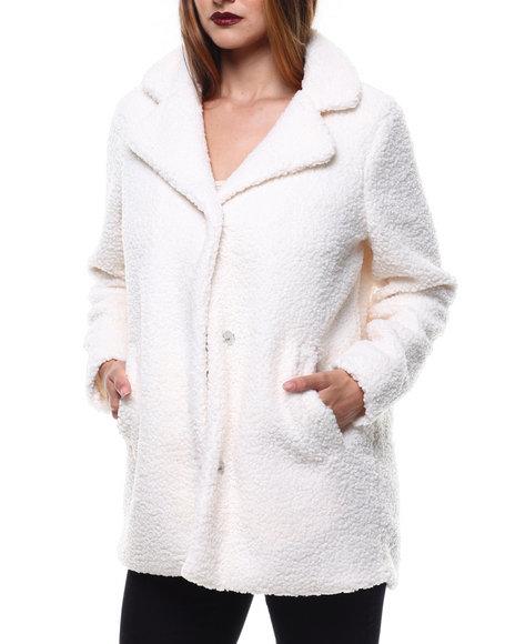 Fashion Lab - Looped Sherpa Coat