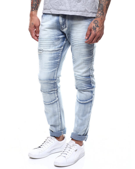 CALIBER - Stripe Silicone Injected Moto Jean