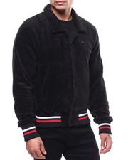 Outerwear - Sherpa Varsity Jacket w Bone Star-2285923