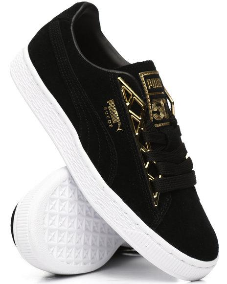 Puma - Suede Jewel Metallic Sneakers