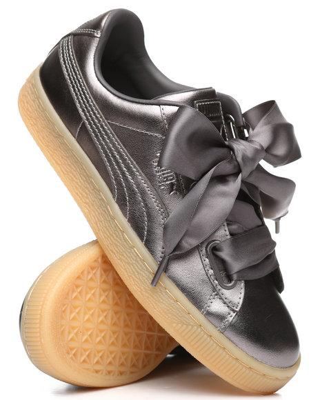 Buy Basket Heart Luxe Sneakers Women's Footwear from Puma