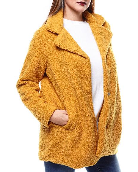 Fashion Lab - Looped Sharpa Coat