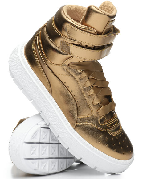 Puma - Platform Trace Luxe Sneakers