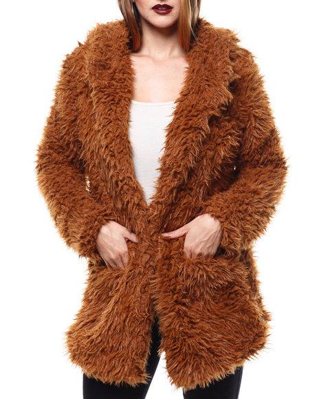 Fashion Lab - Cozy Pocketed Jacket
