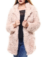 Womens-Winter - Cozy Pocketed Jacket-2284996