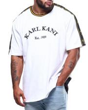 Karl Kani - Jersey Taped Droptail Tee (B&T)-2286722