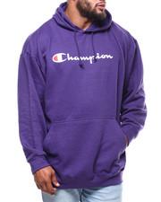 Champion - P/O Script Printed Logo Hoodie (B&T)-2286309