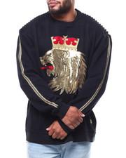 Pullover Sweatshirts - Lion Crown Fleece Sweatshirt (B&T)-2286333