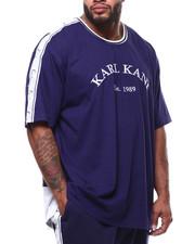 Karl Kani - Jersey Taped Droptail Tee (B&T)-2286738
