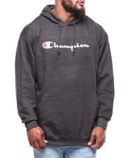 Champion - P/O Script Printed Logo Hoodie (B&T)-2286315