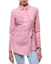 Women - Stripe L/S French Cuff Tunic-2285156
