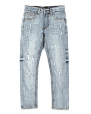 Jeans - Ripped Denim Jeans (8-20)-2284602