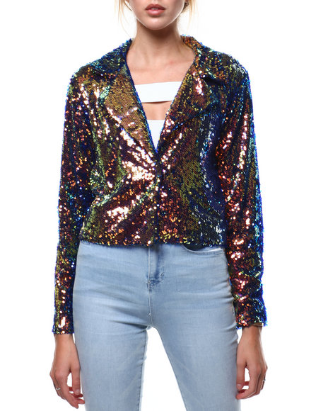 Fashion Lab - Sequin Blazer