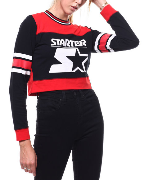 Starter - Cropped Crewneck Top