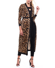 Fashion Lab - Animal Print L/S Duster-2285165