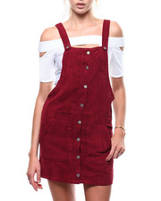 Womens-Fall - Corduroy Jumper Dress-2284976