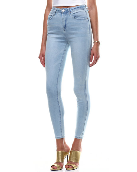 SECRETS - HI Rise 5 Pocket Skinny Jean