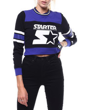 Tops - Cropped Crewneck Top-2286016