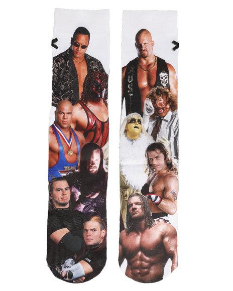 ODD SOX - Attitude Era - WWE Wrestling Socks
