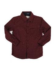 Tops - Cross Print Woven Shirt (8-20)-2284694