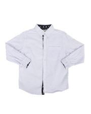 Tops - Geo Print Woven Shirt (8-20)-2284784
