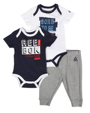 Reebok - Born To Be Great 3Pc Set (Infant)-2285580