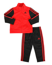 Adidas - 2 Piece Icon Tricot Track Set (2T-4T)-2284023