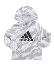Adidas - Moto Camo Pullover Hoodie (2T-4T)-2285293
