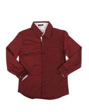 Tops - Dot Print Woven Shirt (8-20)-2284704
