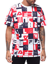 Fila - MYLO ALL OVER PRINT TEE-2287715