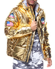 Champion - METALLIC PUFFER COAT-2287830
