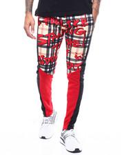 Sweatpants - GRAFFITI PLAID FLEECE Jogger-2287895