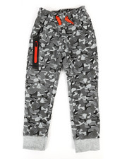 Boys - Sweatpants w/ Zipper Detail (4-7)-2286989