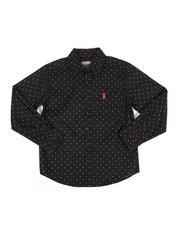 Tops - Star Print Woven Shirt (8-20)-2286811