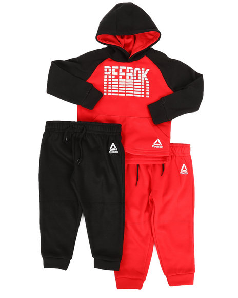 Reebok - 3 Pc Run Set (2T-4T)