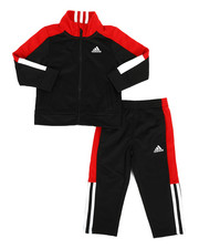 Adidas - 2 Piece Paramount Tricot Track Set (2T-4T)-2285340