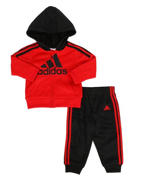 Adidas - 2 Piece Fleece Lined Track Set (Infant)