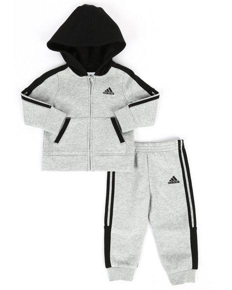 Adidas - 2 Piece Fleece Athletics Set (Infant)