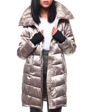 Outerwear - Nylon Hooded Long Puffer-2288058